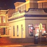 Photo taken at Ebenezers Coffeehouse by Domonique B. on 1/28/2013