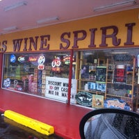 Photo taken at Decatur Wine & Spirits by Grayson on 1/1/2013