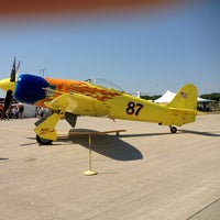 Photo taken at Waukesha County Airport (UES) by Matthew K. on 8/24/2013