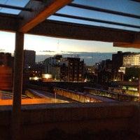 Photo taken at Metro Salto Del Agua [Líneas 1 y 8] by El Gato R. on 10/4/2012