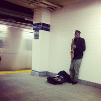 Photo taken at MTA Subway - Jay St/MetroTech (A/C/F/R) by Suman G. on 2/6/2013