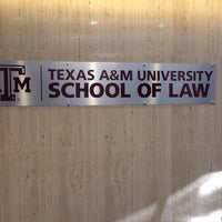 Photo taken at Texas A&M University School of Law by Matt M. on 11/6/2013