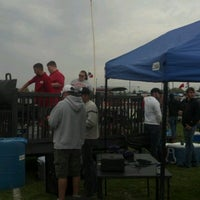 Photo taken at Ball State Tailgate Town by Laura W. on 10/13/2012