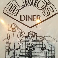 Photo taken at Elmo's Diner by Donna on 9/20/2013