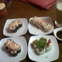 Photo taken at Warung Jepang Shinaro by Riecka P. on 12/24/2012