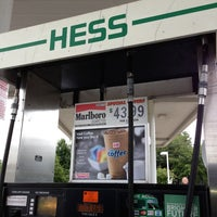 Photo taken at Hess Express by Zachary B. on 7/24/2013