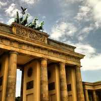 Photo taken at Brandenburg Gate by Betico on 6/4/2013