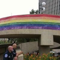 Photo taken at Kanawha Plaza by Jamie B. on 9/29/2012