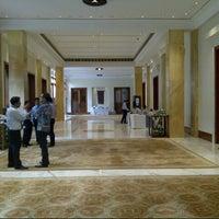 Photo taken at The Dharmawangsa Hotel by Jimmy P. on 2/6/2013