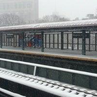 Photo taken at MTA Subway - Mosholu Parkway (4) by Carol C. on 3/8/2013