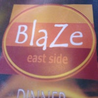 Photo taken at Blaze by Terence h. on 4/30/2013