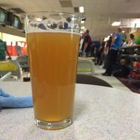 Photo taken at King Pin Bowl and Ale House by Fuzz M. on 12/11/2014
