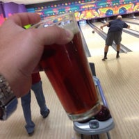 Photo taken at King Pin Bowl and Ale House by Fuzz M. on 9/17/2014