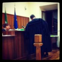 Photo taken at Tribunale di Frascati by Francesco P. on 11/28/2012