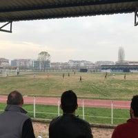 Photo taken at Hendek Atatürk Stadyumu by Okan on 11/19/2017