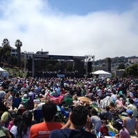 Photo taken at Symphony In the Park at Dolores Park by Mike C. on 7/21/2013