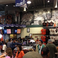 Photo taken at Giants Dugout Store by Jigna P. on 10/26/2012
