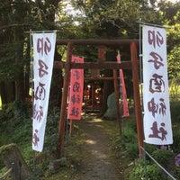 Photo taken at 卯子酉様 by Masaya T. on 10/11/2016