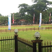 Photo taken at Alun-alun Bangkalan by S A. on 11/8/2012