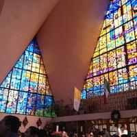 Photo taken at Parroquia de Nuestra Señora Aparecida del Brasil by Monica R. on 1/13/2013
