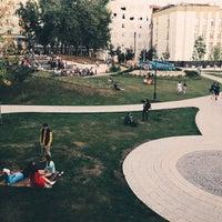 Photo taken at Парк «Горка» by Roman B. on 8/10/2018