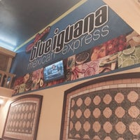 Photo taken at Blue Iguana Mexican Express by Miguel A. on 3/30/2015