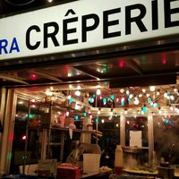 Photo taken at Perierra Crêperie by Phil D. on 1/22/2017