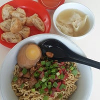 Photo taken at Bakmi Keriting Pematang Siantar by Daniel K. on 4/26/2014