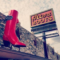 Photo taken at Allens Boots by Don on 3/13/2015