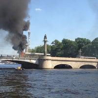 Photo taken at Ушаковский мост by Роман В. on 6/22/2013