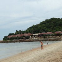 Photo taken at Beach · Impiana Resort & Spa by Leandro S. on 5/12/2013