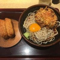 Photo taken at そば新 お茶の水店 by Tatsu on 9/2/2016