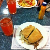 Photo taken at Masay Pizza & Sandwich by Sebastián A. on 2/20/2013