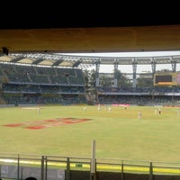 Photo taken at Wankhede Stadium by Pavan M. on 11/23/2012