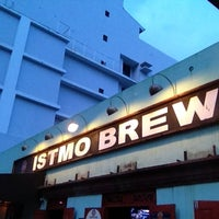 Photo taken at Istmo Brew Pub by Greg C. on 4/3/2013