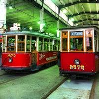 Снимок сделан в Музей городского электрического транспорта пользователем Ekaterina G. 11/7/2012