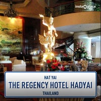 Photo taken at The Regency Hotel Hadyai by Angie on 7/21/2013