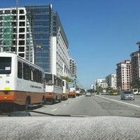 Photo taken at Wawasan Bus Terminal by Angie on 1/11/2016