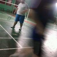 Photo taken at Badminton Kelenteng Kamboja by KUN S. on 3/3/2013