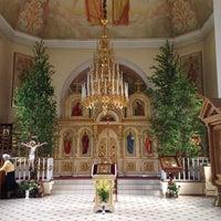 Photo taken at Храм святителя Николая Чудотворца by Kira P. on 6/8/2014