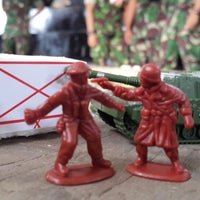 Photo taken at Pusat Pendidikan Kavaleri (PUSDIKKAV) by Pawin P. on 7/31/2013