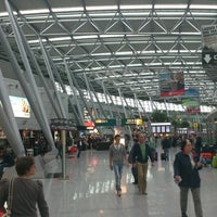 Photo taken at Düsseldorf Airport (DUS) by Pavel D. on 4/28/2013