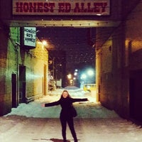 Photo taken at Honest Ed's Alleyway by Sydney Q. on 12/19/2013