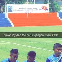 Photo taken at Mini Stadium by Edayu Z. on 5/28/2016