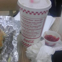 Photo taken at Five Guys by Larry L. on 10/10/2012