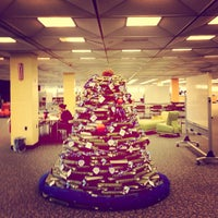 Photo taken at IPFW Helmke Library by Nick K. on 11/29/2012