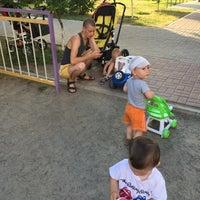 Photo taken at Детская Площадка Ахматовой 24 by Ruslan M. on 7/17/2016