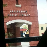 Photo taken at Greensboro Public Library by Nicole S. on 8/14/2013