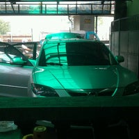 Photo taken at JRM Car Wash & Auto Detailing by Mariz D. on 10/1/2013