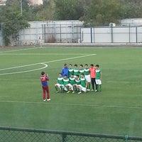 Photo taken at Metin Oktay Stadı by Nurhan K. on 10/12/2013